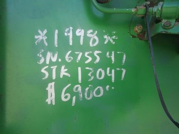 1998 John Deere 918 Platform