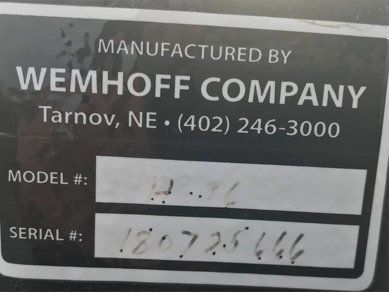 2018 Wemhoff H36 Header Trailer