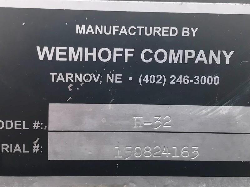 2015 Wemhoff H32 Header Trailer