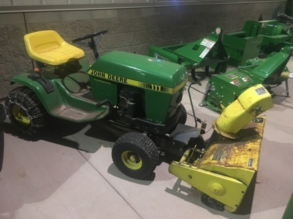 John Deere 111 Lawn And Garden For Sale Machinery Pete. John Deere 111 Lawn And Garden. John Deere. John Deere Lawn Mower Diagram 111 38 Deck At Scoala.co