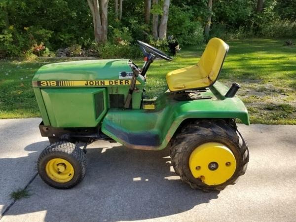 John Deere 318 >> 1988 John Deere 318 Lawn And Garden Edinboro Pennsylvania