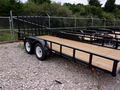 2017 Carry-On 7X16GW2BRK Flatbed Trailer