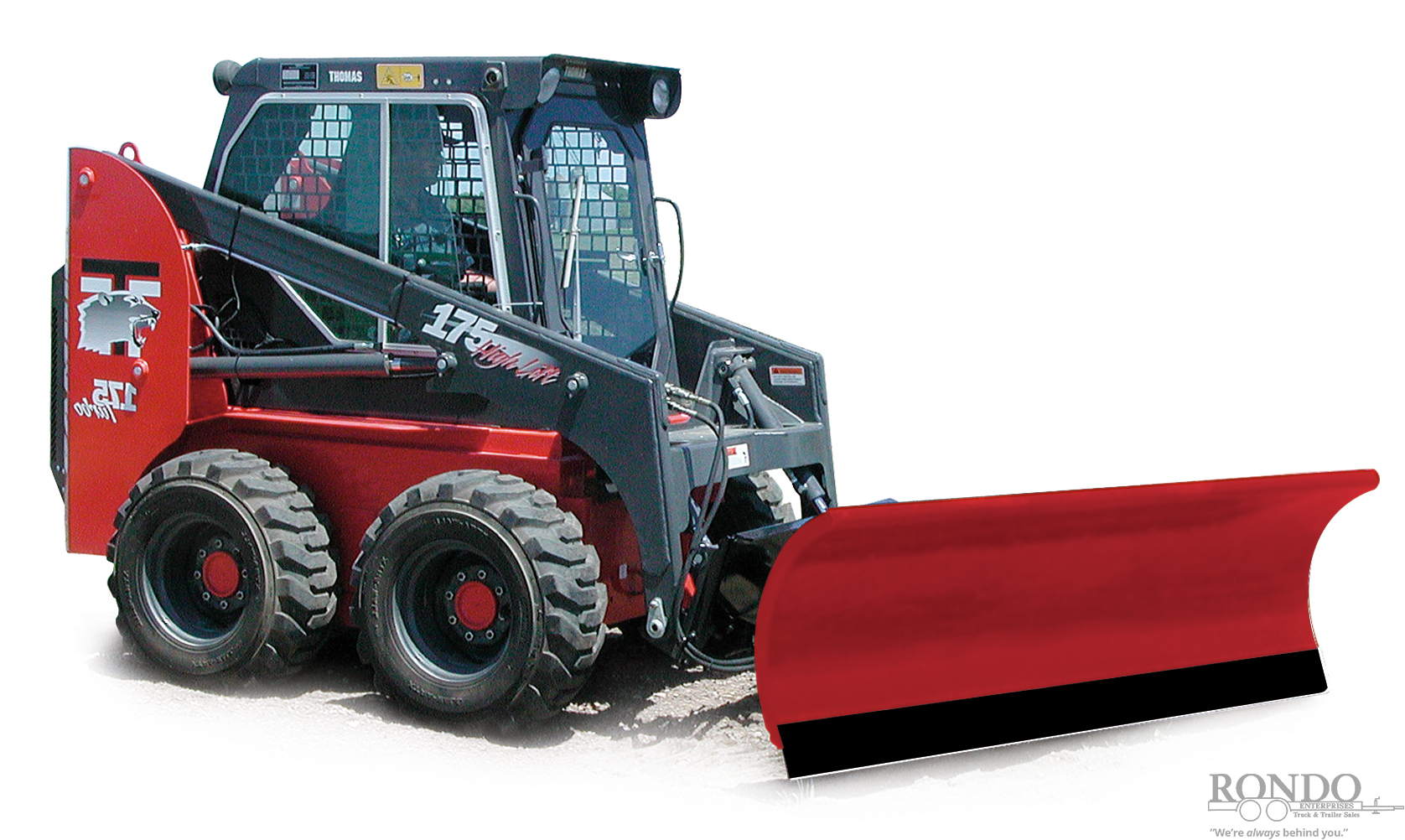 Hiniker 2285 Loader and Skid Steer Attachment