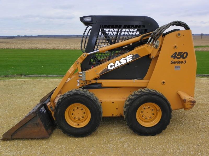 2009 Case 450-3 Skid Steer