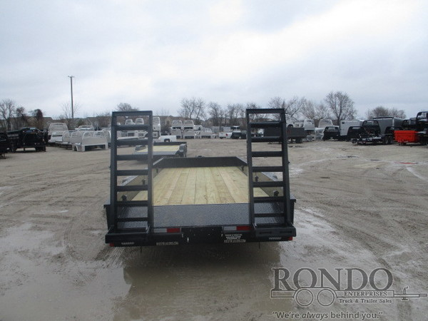 2018 Rice FMAX20 Flatbed Trailer