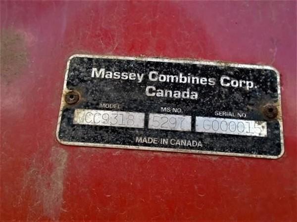 Massey Ferguson 9318 Platform