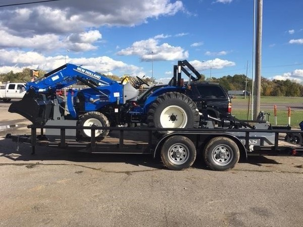 2018 New Holland Workmaster 25 Tractor
