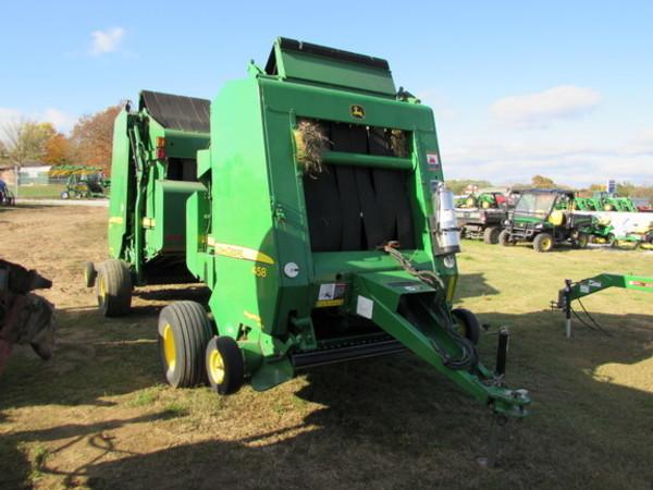 John Deere 458 Round Balers for Sale | Machinery Pete