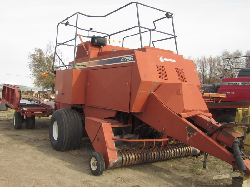 Used Hesston 4755 Big Square Balers for Sale | Machinery Pete