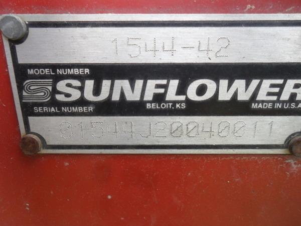 2004 Sunflower 1544-42 Disk
