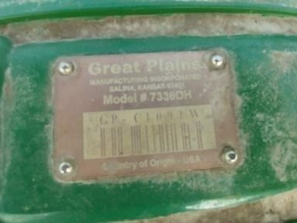2015 Great Plains 7336DH Disk