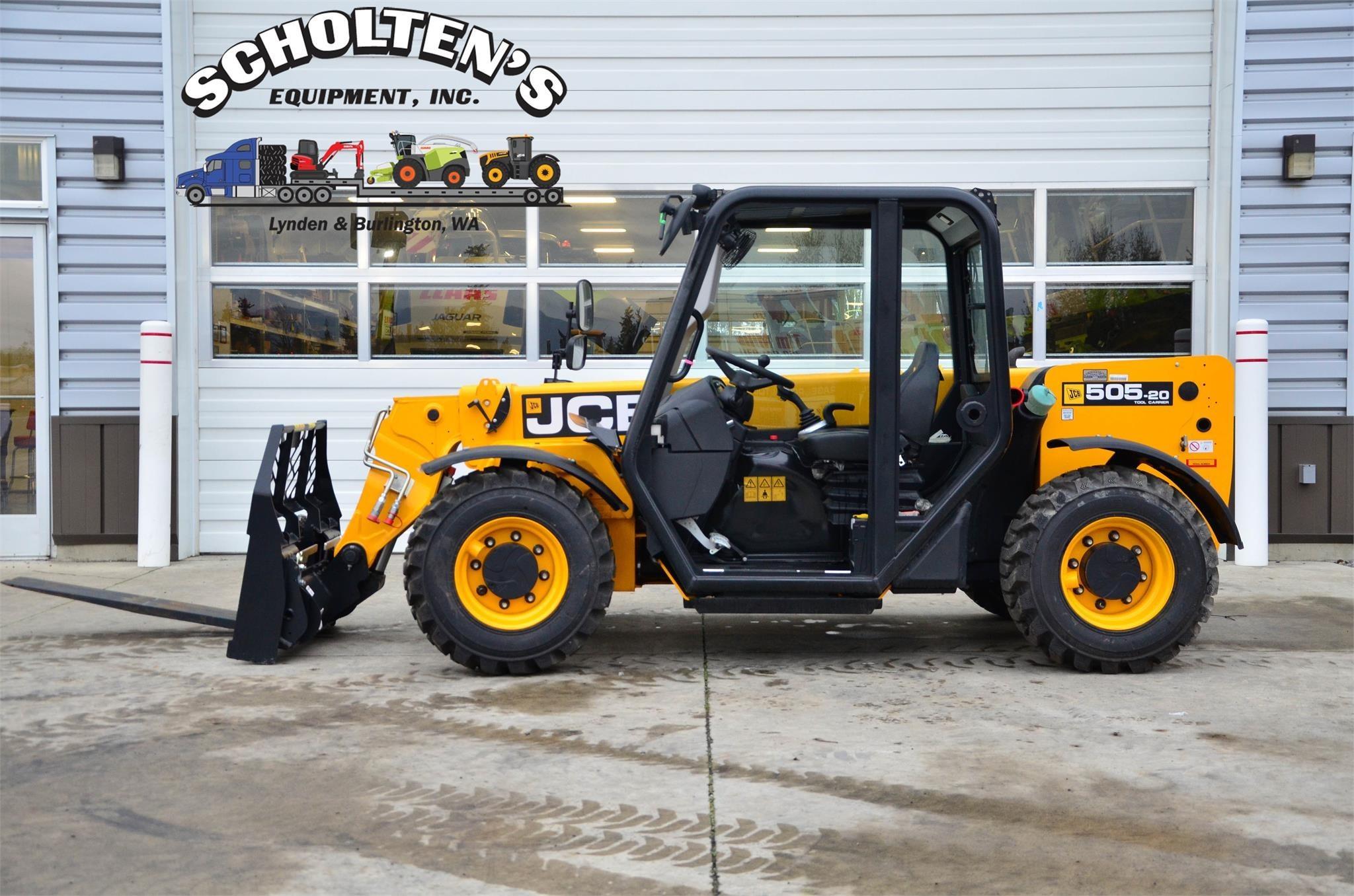 2020 JCB 505-20TC Forklift