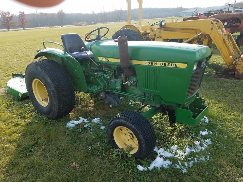 John Deere 850 Tractors for Sale | Machinery Pete