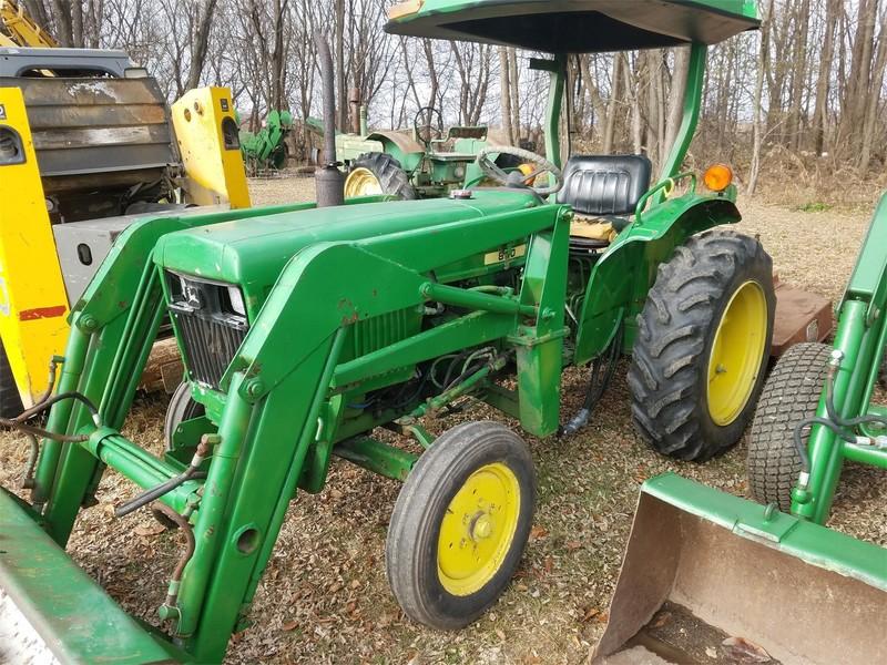 1982 John Deere 850 Tractor
