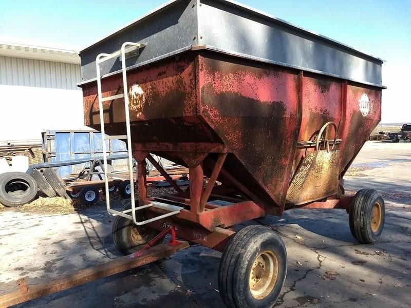 Compact Farm Wagon Running Gear