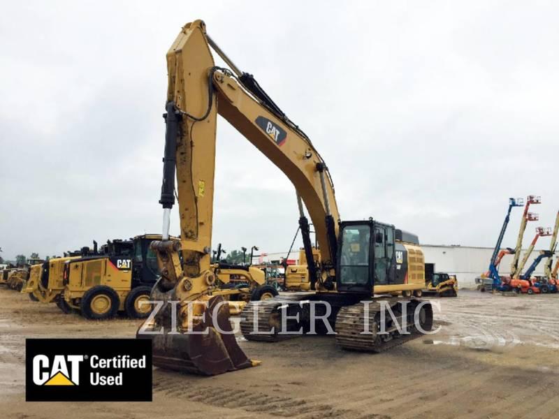 2014 Caterpillar 349FL Excavators and Mini Excavator