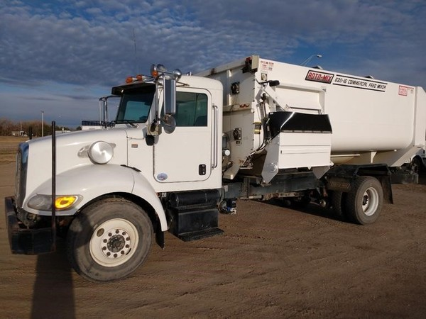 2010 Roto Mix 620-16 Grinders and Mixer