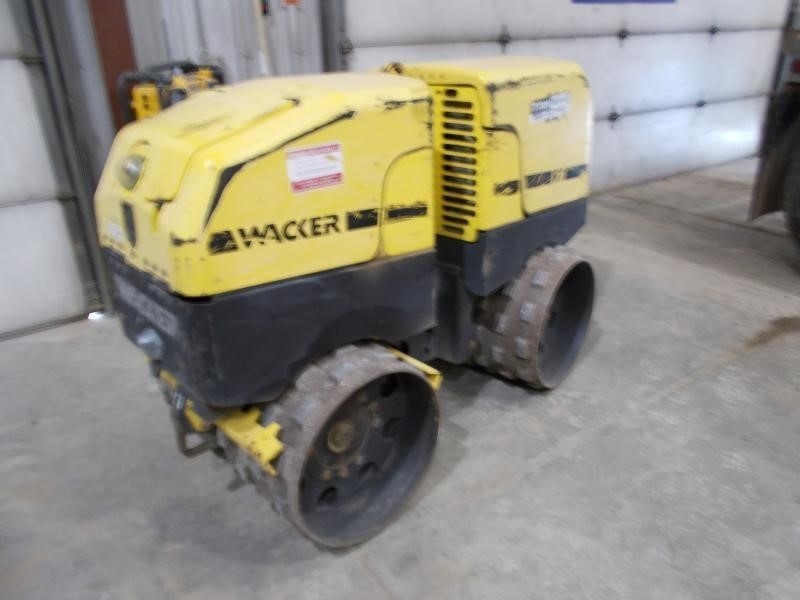 2009 Wacker Neuson RT82 Compacting and Paving