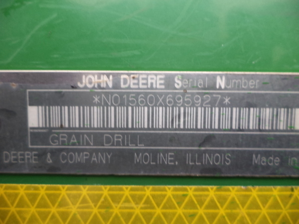 2002 John Deere 1560 Drill