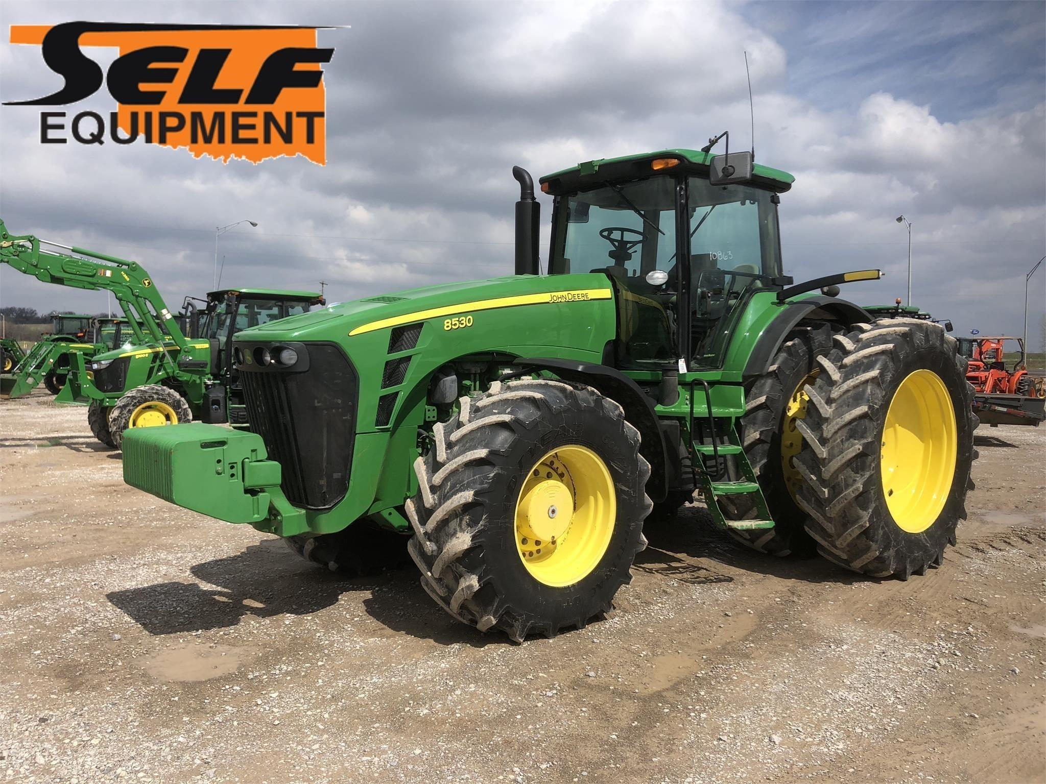 John Deere 8530 Tractor Pauls Valley Oklahoma Machinery Pete