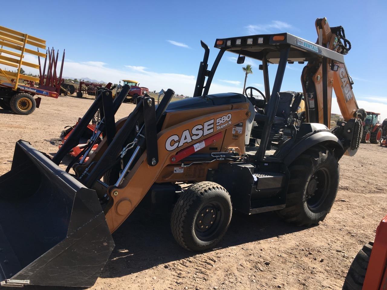 2018 Case 580SN Backhoe