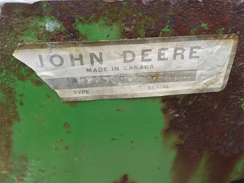 John Deere 225 Disk