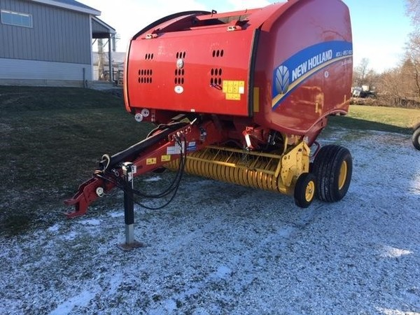 Used New Holland Roll-Belt 450 Round Balers for Sale | Machinery Pete