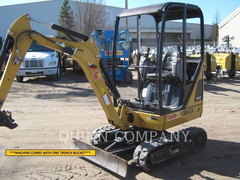 2015 Caterpillar 301.4C Excavators and Mini Excavator