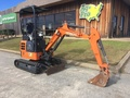 2016 Hitachi ZX17U-5 Excavators and Mini Excavator