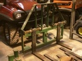 """1999 Armstrong Ag 48"""" Pallet Forks Loader and Skid Steer Attachment"""