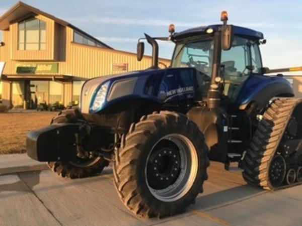 2016 New Holland Genesis T8.410 SmartTrax Tractor
