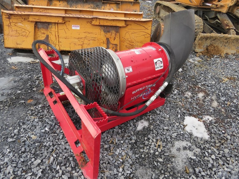 buffalo turbine debris blower parts