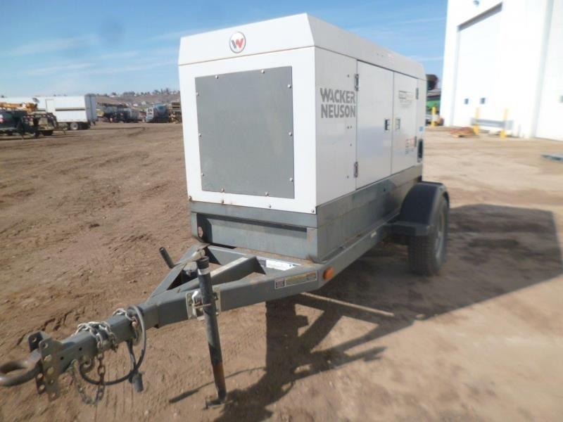 2012 Wacker Neuson G70 Generator