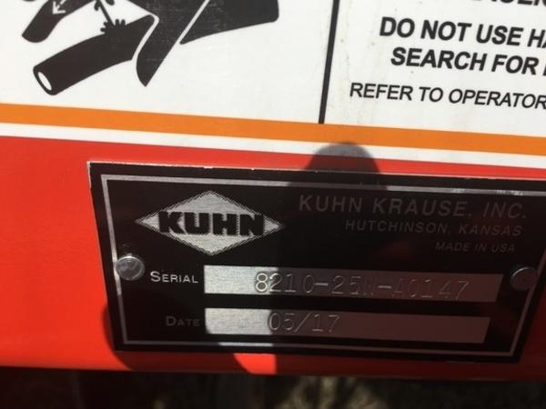 2017 Krause 8210-25W Disk