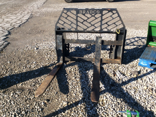 Bradco Forks Loader and Skid Steer Attachment