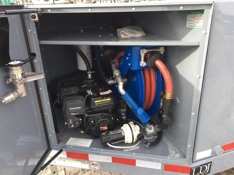 2015 Thunder Creek ADT990-D Fuel Trailer