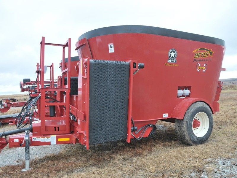 2019 Meyer F470 Grinders and Mixer