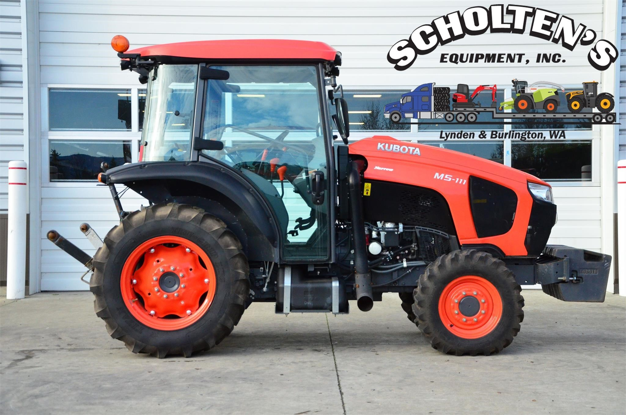 2021 Kubota M5-111 Tractor