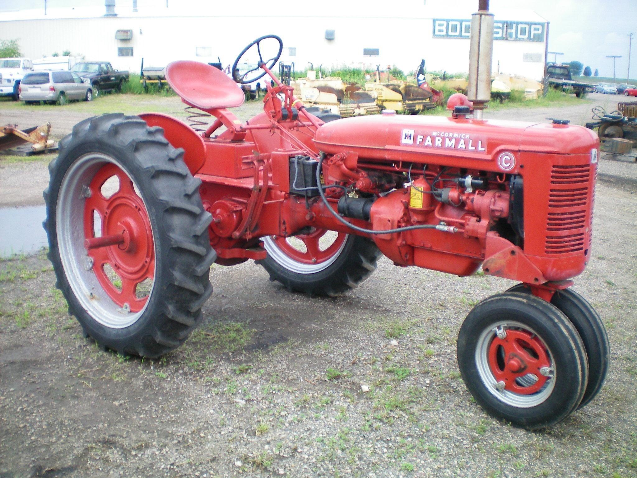 1948 International C Tractor