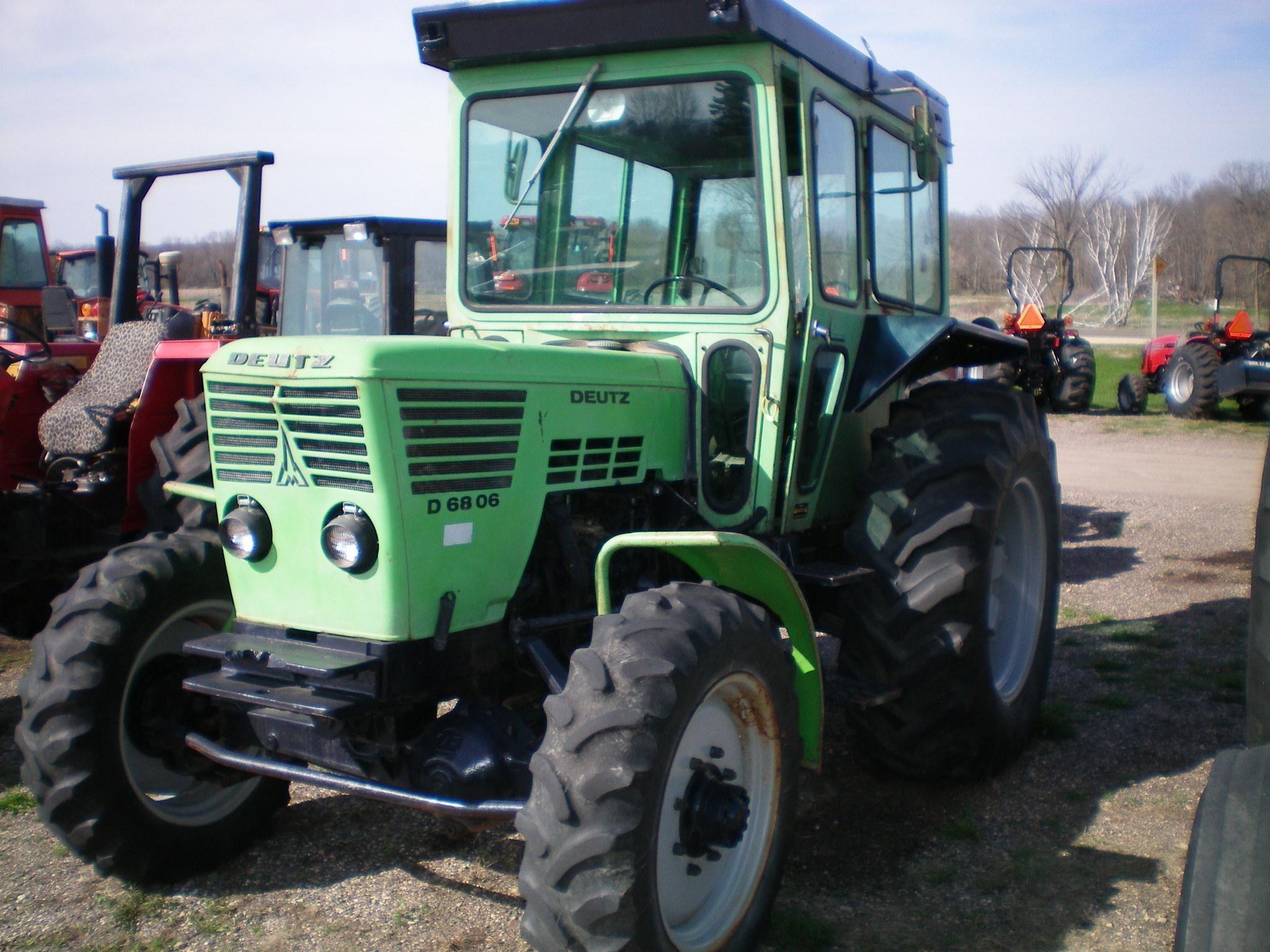 1978 Deutz D 6806 Tractor