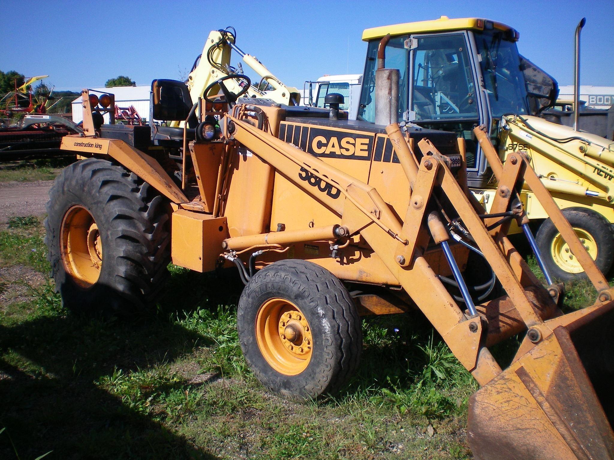 1981 Case 580D Backhoe