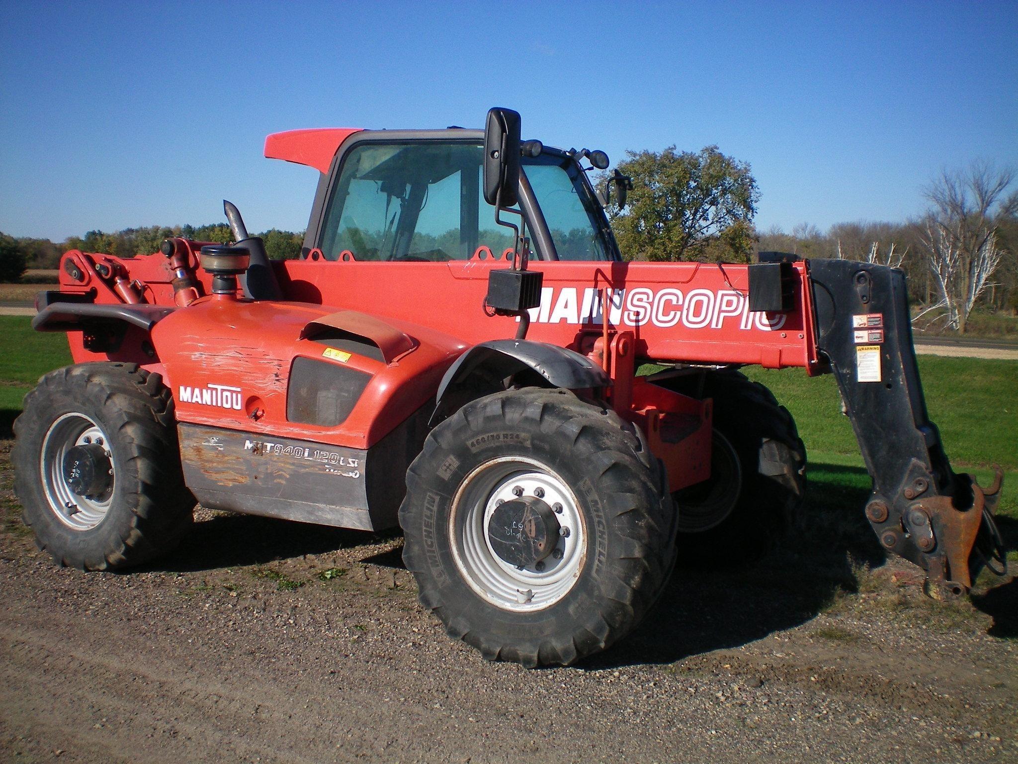 2009 Manitou MLT940L-120LSU Telehandler