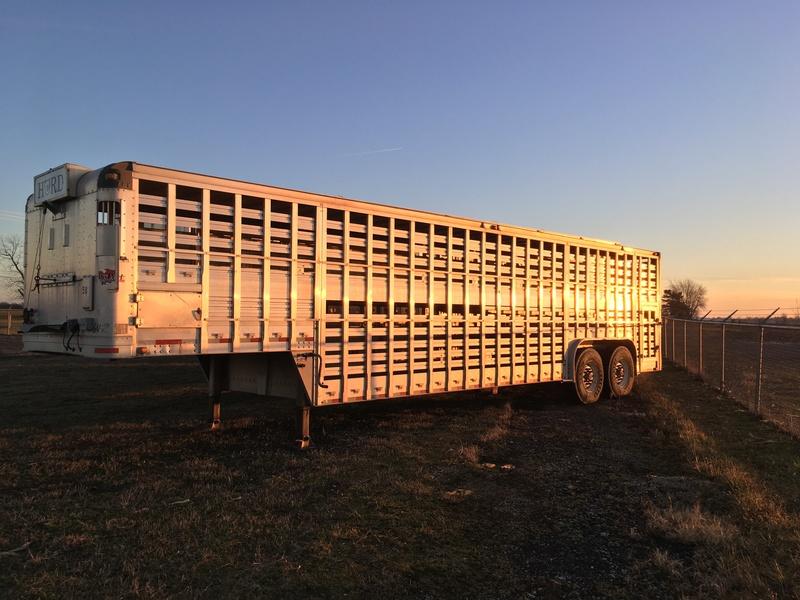 2000 EBY 53 ft Alum Trailer Livestock Trailer