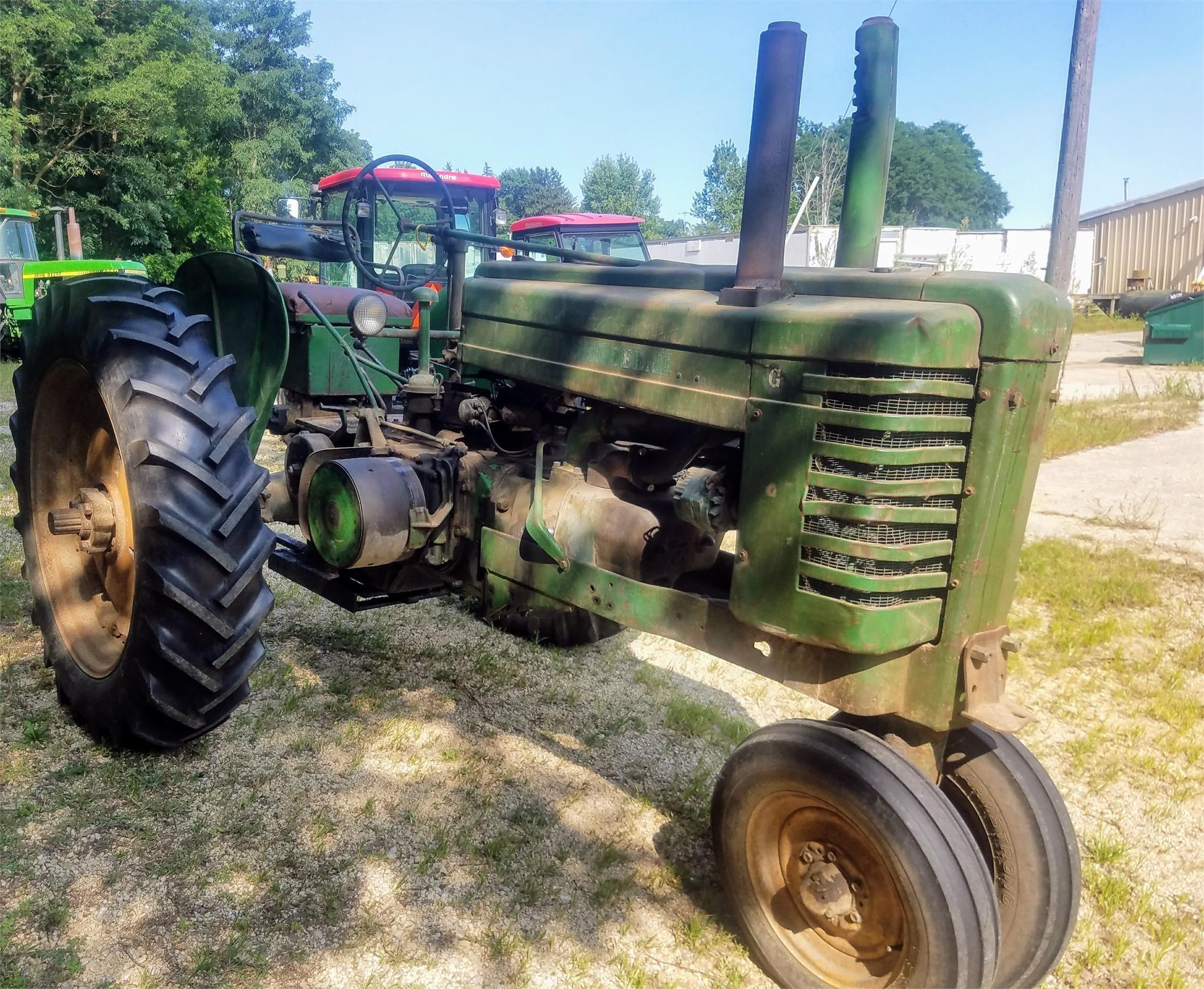 1950 John Deere G Tractor