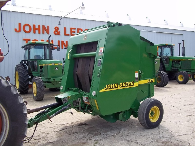 John Deere 457 Round Balers for Sale | Machinery Pete