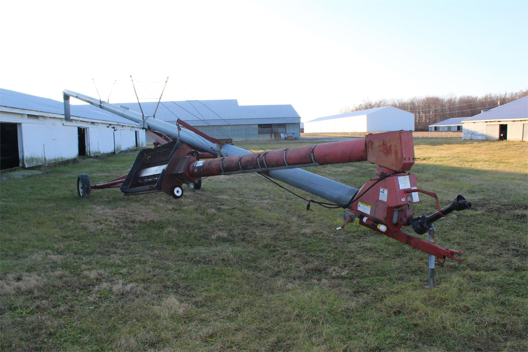 2000 Mayrath 10x62 Augers and Conveyor