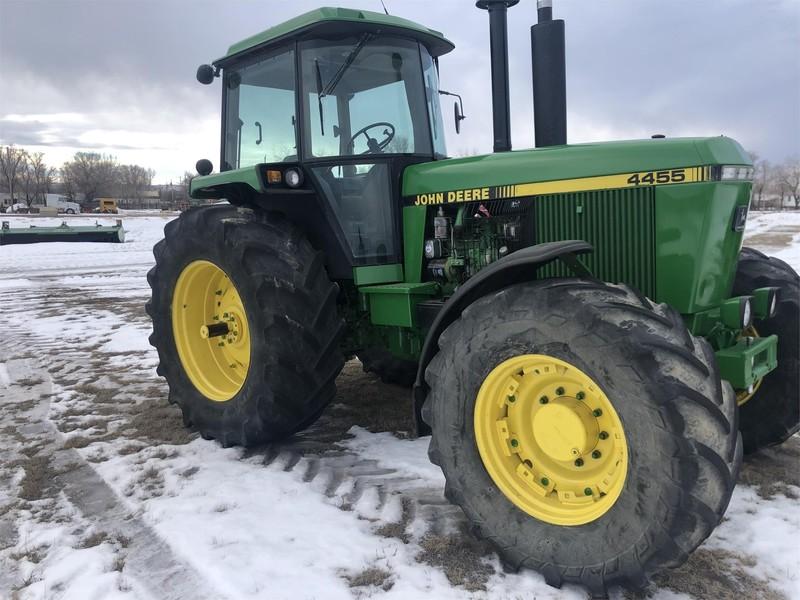 John Deere 4455 Tractor Broadus Montana Machinery Pete