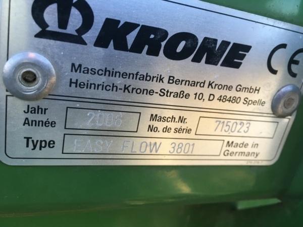 2008 Krone BIGX800 Self-Propelled Forage Harvester
