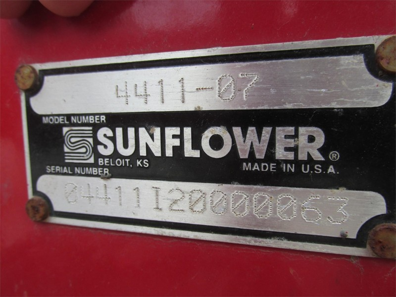 2003 Sunflower 4411-7 Disk Chisel