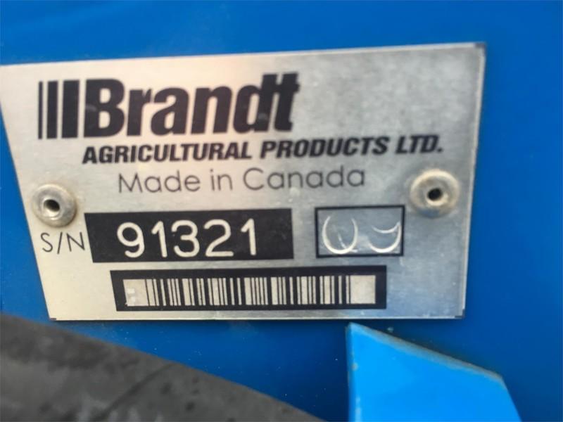 2009 Brandt 1070 Augers and Conveyor
